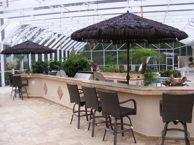 Ponte Vedra Resort Style Living mediterranean-patio