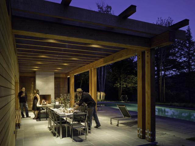 pool pool house moderne terrasse et patio. Black Bedroom Furniture Sets. Home Design Ideas