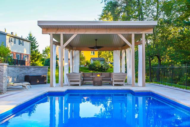 Pool Cabana Modern Patio Toronto By Total Living