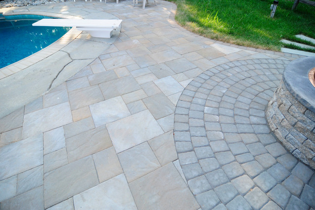 Pool Deck Extension traditional-patio