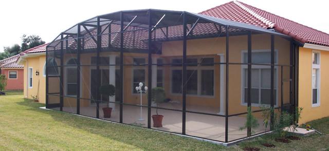 Pool Enclosures modern-patio