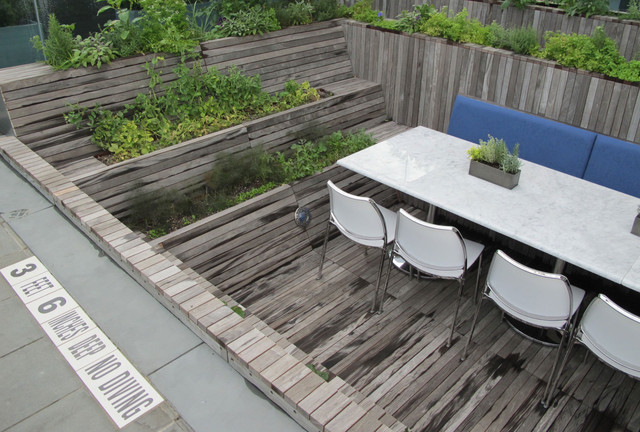 Modern Patio by Future Green Studio