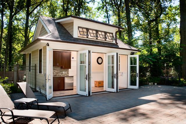Pool house transitional patio philadelphia by j for Finehomebuilding com houses