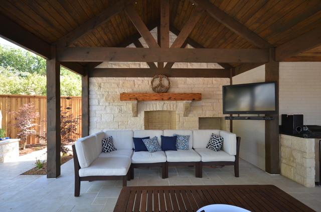 Pool Houses craftsman-patio