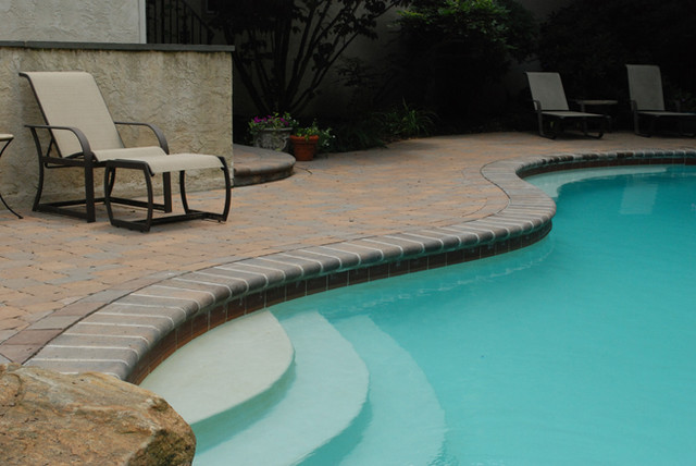 Poolside Residence traditional-patio