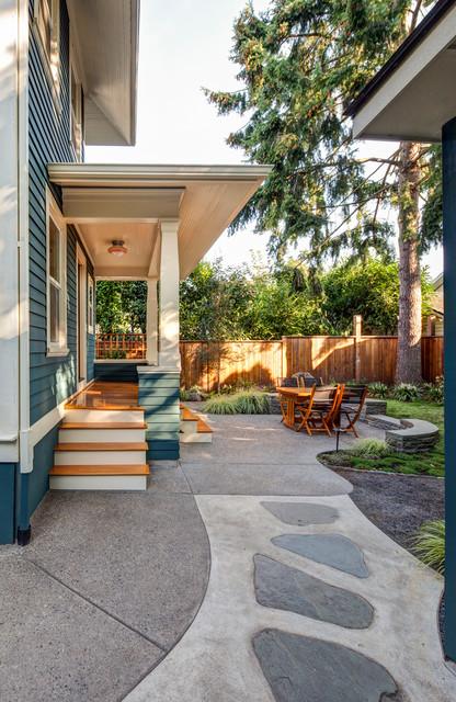 Porch Portal Craftsman Patio Portland By