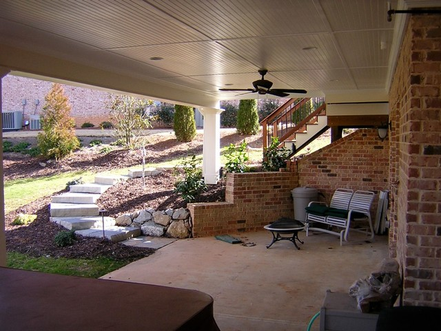 Porches traditional-patio