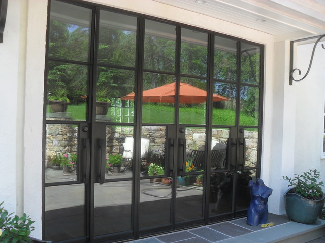 Beautiful Portella Exterior Steel Door Modern Patio