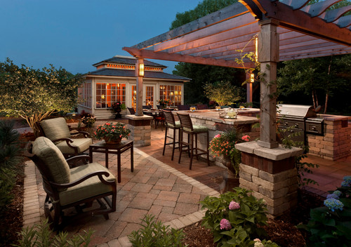 Traditional Patio by Cedarburg Photographers Edmunds Studios Photography, Inc.