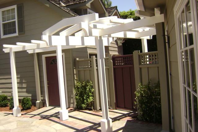 Portfolio of work traditional-patio