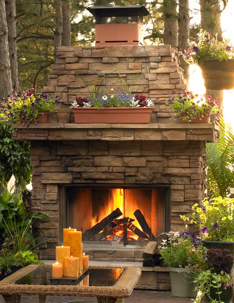 Patio - traditional patio idea in Milwaukee
