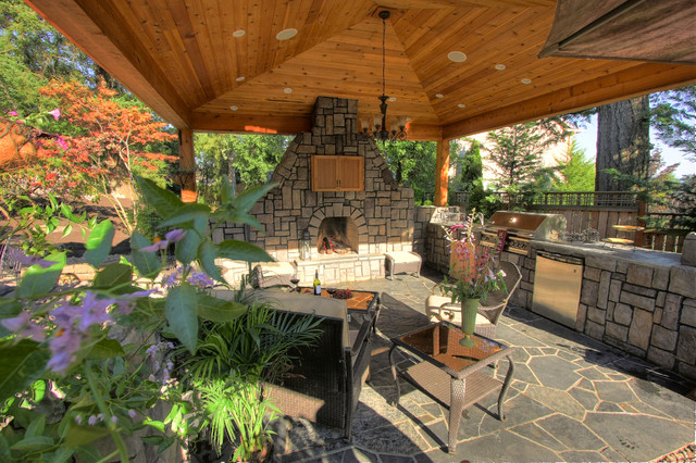 Portland Landscaping Outdoor Living Contemporary Patio