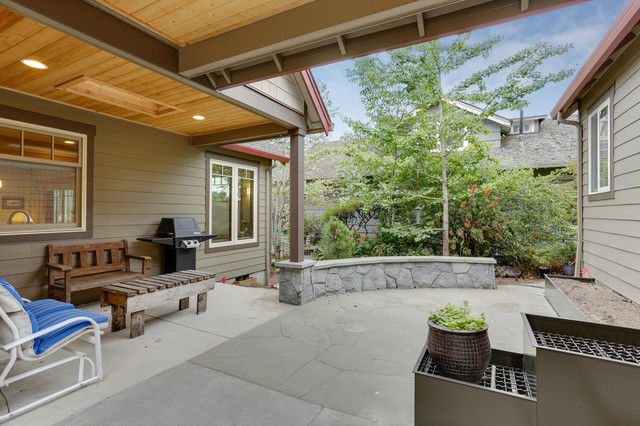 Portland Oregon Custom Home Built By Quail Homes Of