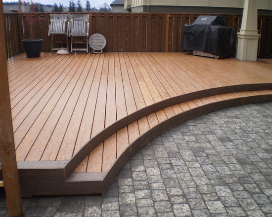 Curved Deck Home Design Ideas Pictures Remodel And Decor