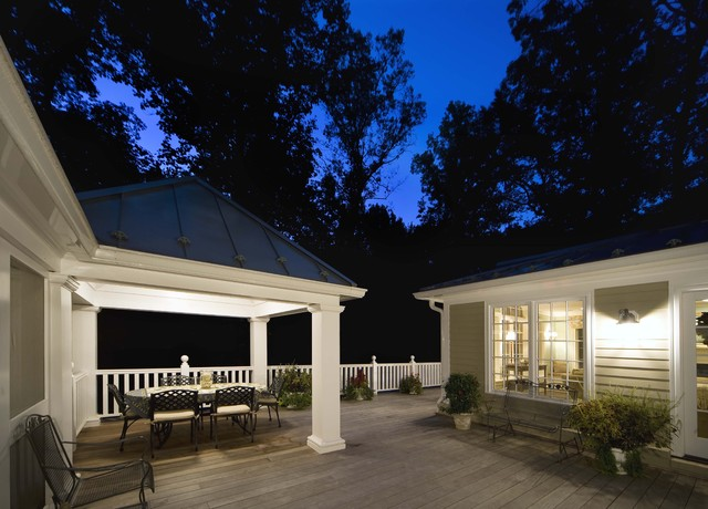 Potomac Maryland Addition and Kitchen traditional-patio
