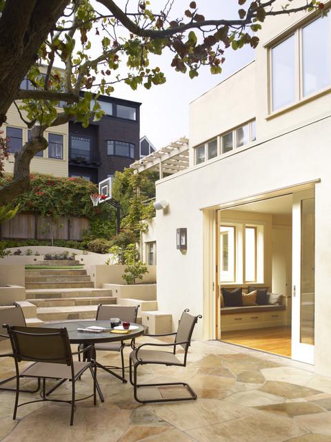 Presidio Heights Residence traditional-patio