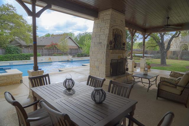 Price Residence contemporary-patio