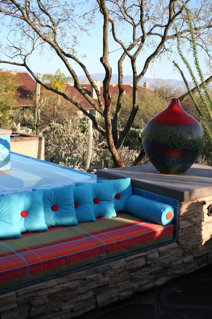 Prideaux Design southwestern-patio