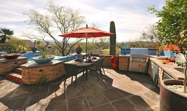 Prideaux Design southwestern-patio