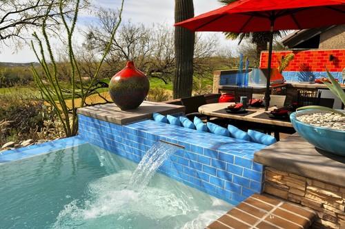 Prideaux Design eclectic patio