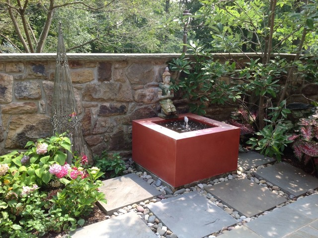Princeton Country House traditional-patio