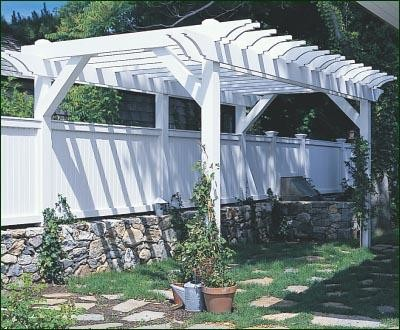 Privacy pergola traditional patio other metro by for Walpole outdoors