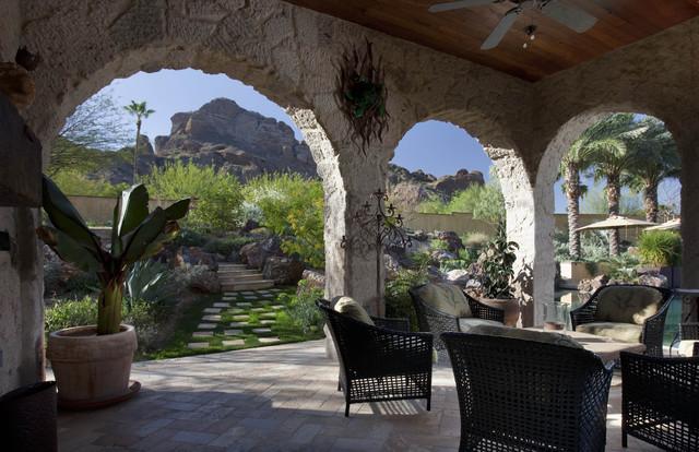 Private Residence mediterranean-patio
