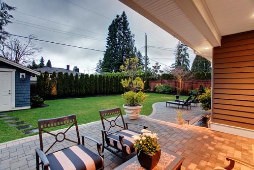 How To Make Backyard More Private three mango seeds: backyard landscape ideas