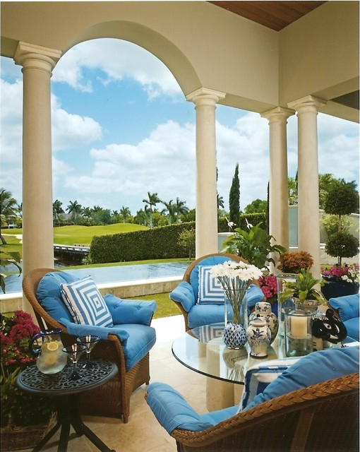 Private Residence 4 Boca Raton FL Traditional Patio Miami By Susan