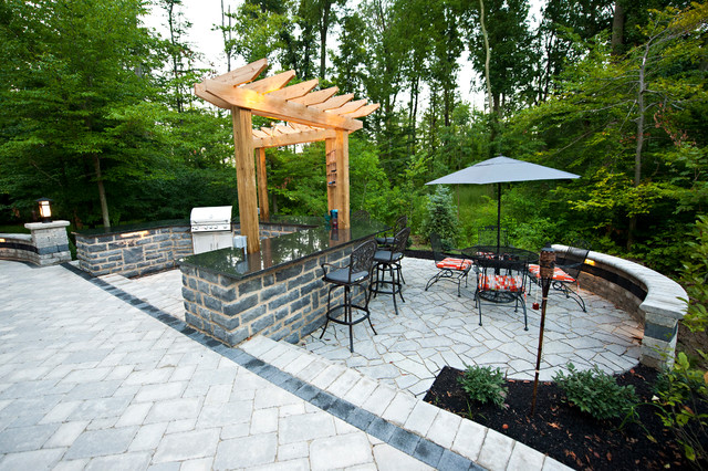 Private Residence 4 rustic-patio