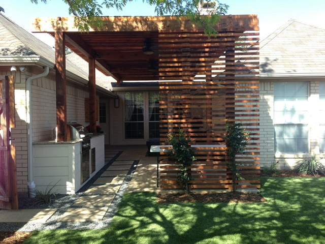 Private Residence Bryan Modern Patio Dallas By