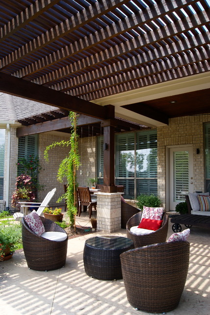 Project of the Month: August 2013 transitional-patio
