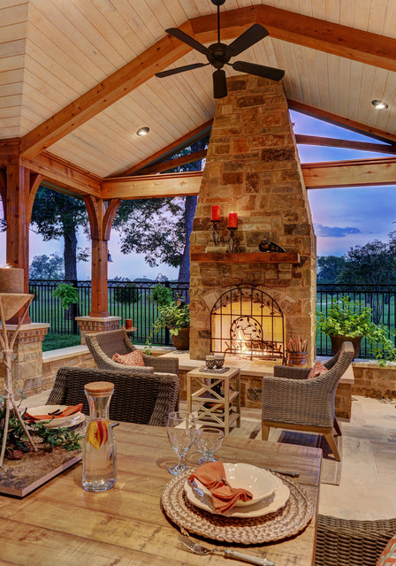 Project Of The Month October 2014 Rustic Patio