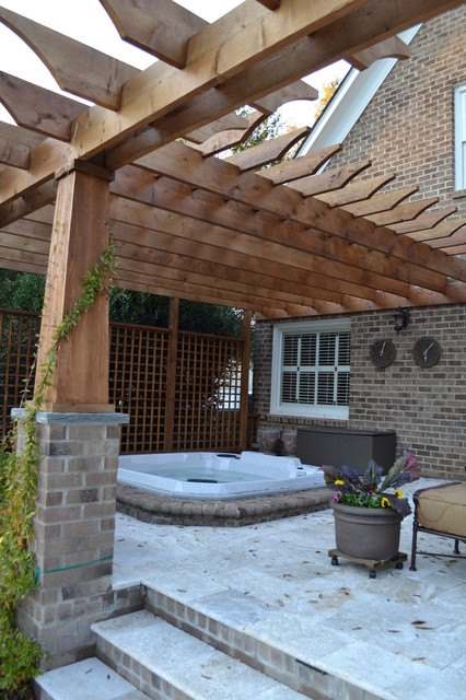 Outdoor Living- Ullman Residence modern patio