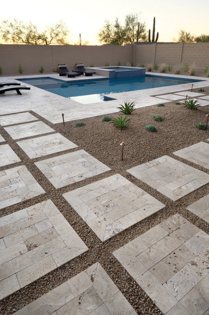 Inspiration For A Contemporary Patio Remodel In Phoenix