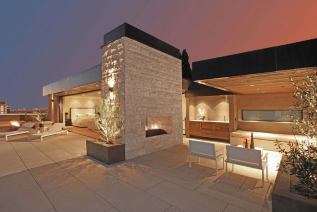 Queens Way contemporary-patio