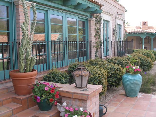 Railing traditional-patio