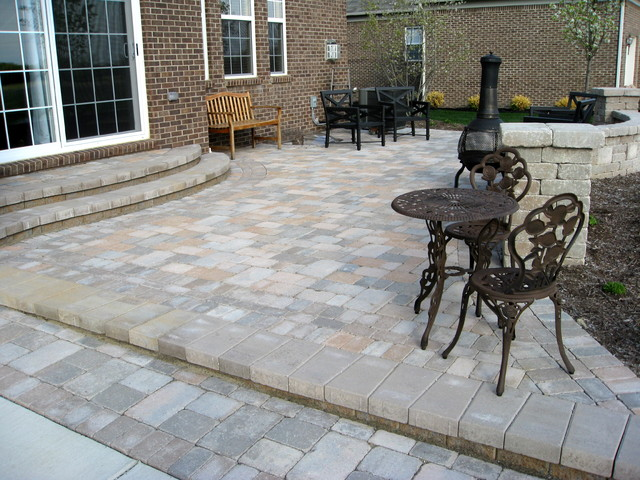 Raised patios traditional patio detroit by apex - Pictures of raised patios ...