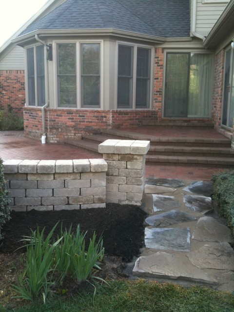 Raised patios contemporary patio detroit by apex - Pictures of raised patios ...