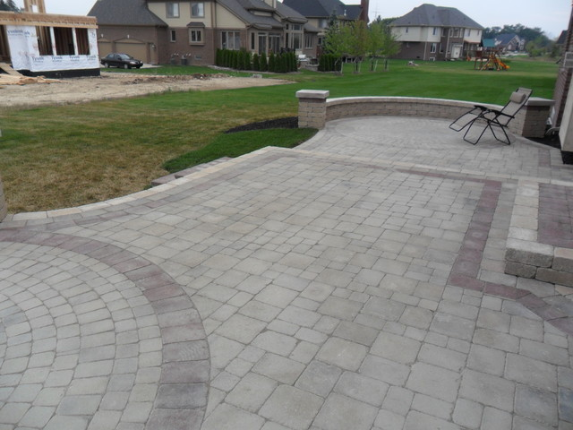 Raised Patios Contemporary Patio Detroit By Apex