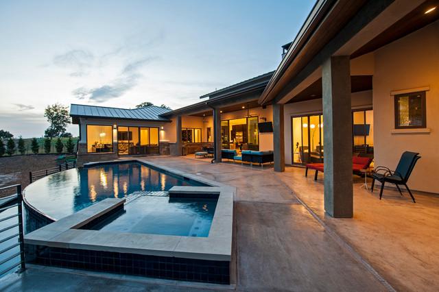 Ranchland Hills Contemporary Custom contemporary-patio