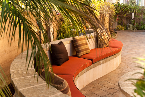 Mediterranean Patio by Carlsbad Home Stagers Metamorphysis - A Home Staging Service