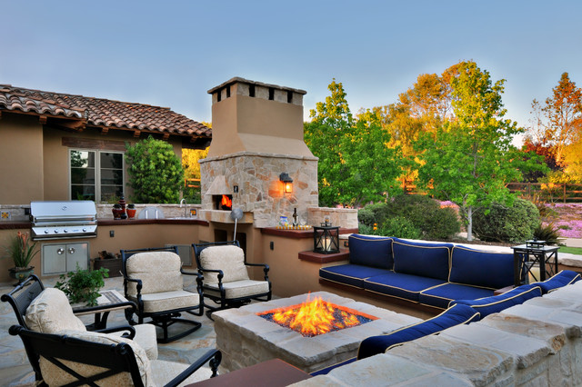 Rancho Retreat mediterranean patio
