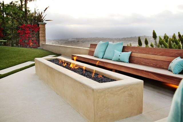 Randolph Residence Modern Patio San Diego By