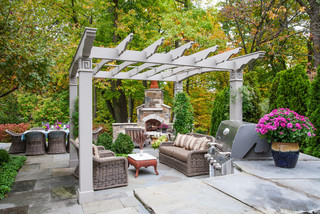 Ravine Garden Oasis Traditional Patio Chicago by NLH