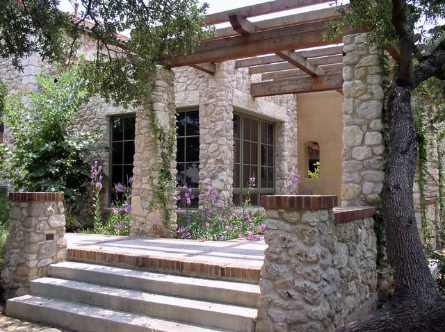 Rear Terrace And Pergola (2) Mediterranean Patio
