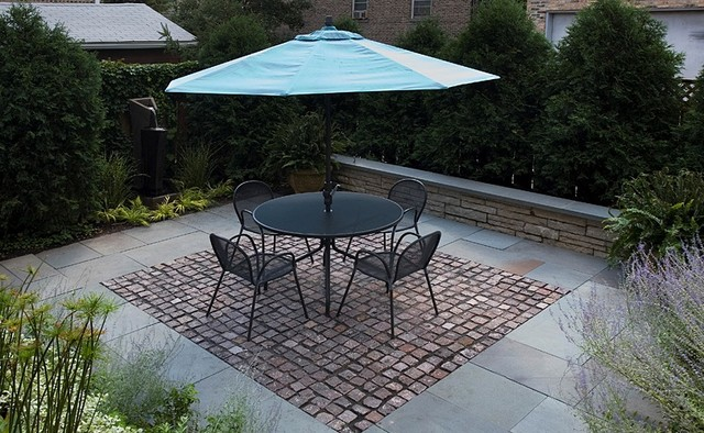 Recycled Pavers patio
