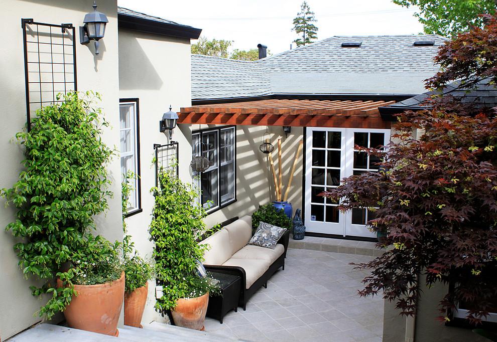 Redwood City Backyard - Contemporary - Patio - San ...
