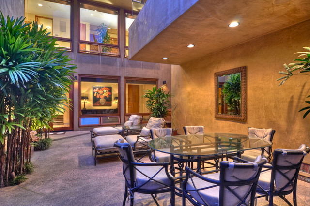 Reed Residence contemporary-patio
