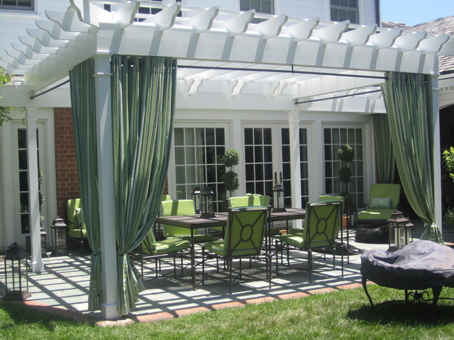 Refreshing magazine worthy pergola contemporary patio baltimore